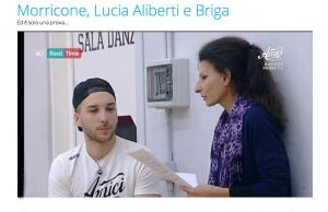 Web-Lucia Aliberti and Mattia Briga_Amici_,channel5 copia