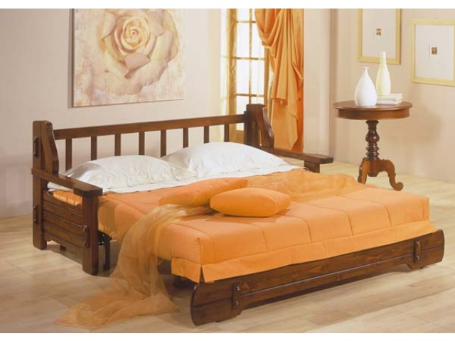 Divani letto in legno 3 cose che devi sapere - Divani letto rustici in legno ...